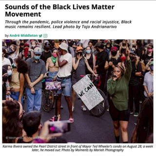 Our Executive Director, André Middleton, wrote a thing. Mad love to @vrtxmag for sharing their platform with him so that he could share what this summer of #blm and #socialjustice meant to him. Hit the link in our profile to peep the essay.