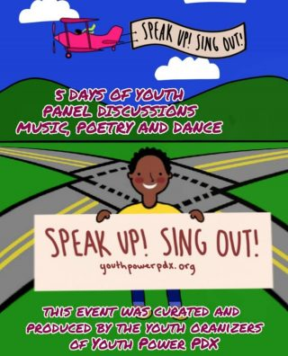 Are you ready for Speak Up Sing Out?! @youthpowerpdx is bringing you 5 days of Youth Power! Youth speakers, youth music, youth poets, and youth dancers! Big ups to @cityrepairproject for partnering with us as we make space for youth of our community to be seen heard and respected Dec 19th - 24th. Hit the link in @youthpowerpdx profile to find this amazing community this winter break! Featuring @aliya_falls @citytrollhobbs @perrocruzado @whoscooperblack @meiapdx @sasori670 @kendellbrownclay_ @myles.saucedo @big_papi_productions @rowynoconnor @jollywrapper @arieanna_mbia_oregon20 @slugtrial @morpheusyouthproject