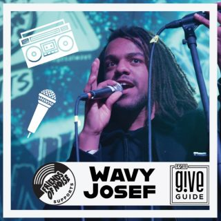 @wavyjosef (you need to follow him rn!) is one of the talented youth artists that we supports as we work to build an all ages music community that is safe and inclusive. Whether it's a workshop, giving him industry advice, booking him for big gigs like their annual ICEBREAKER show or paying him to play an all ages set, Friends of Noise has been in his corner big time! Please show us some love in this year's @giveguide by hitting the link in our profile and donating to a great organization today! Oh yeah, today is a big give day where all donations will be entered to win a dope prize of a @patagonia shopping spree! #allagesalways #pdxmusic #teenmusic #portlandoregon #youthinaction #giveguide2020