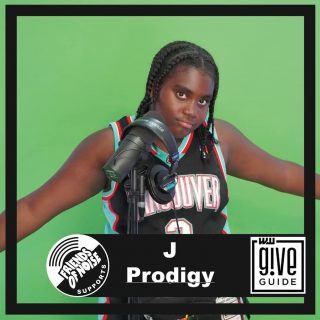 This is @jprodigymusic. She's got talent, a strong team behind her, parents that are attentive but even with all that she can't perform in the majority of venues in our region. This is why Friends of Noise exist. To give J Prodigy as many paid opportunities as we can for her, and hundreds of under 21 artists like her, to hone their craft. We're raising funds to continue our workshops and paid gigs in this year's Willamette Week @giveguide. As a bonus, today is a Big Give Day where your donation will put you in the running to win one of two Trek Bikes from the @bikegalleryportland. Thanks in advance for your support!