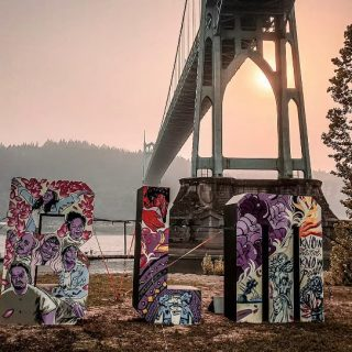 We need some help from the community. We produced (with the help of so many) a #blm rally and march at Cathedral Park on Labor day and an artist came through and painted this amazing sculpture. We'd love to boost them and connect them with someone that is looking for them. If you brought this to the event or know who did please shout them out in the comments! Much appreciated!
