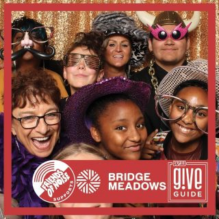 Last year and just a few weeks ago Bridge Meadows called on Friends of Noise to supply them with youth musicians that are as inspirational as they are talented. We were honored to book @davasate_jr , @timothyjamesmusic , @meiapdx and @outofluckmusic to entertain the attendees of the Bridge Meadows Imagine Galas for the past two years. We were thrilled about our partnership because their commitment to supporting intergenerational community building matches our own. This year you can also find us both in the Willamette Week @giveguide, where your donation will demonstrate your support for us too and anyone who donates over $10 ANYTIME (Give!Guide runs until 12/31), will also receive a free download of the Chinook Book, a legit awesome digital coupon book that we use repeatedly every year we get it, and features some freebie coupons that are specific to the Give!Guide supporters.